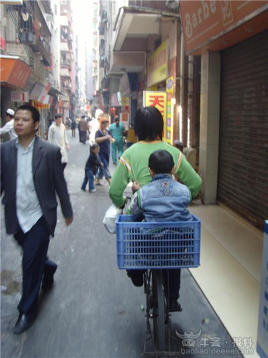 自行车坐人简笔画-泡
