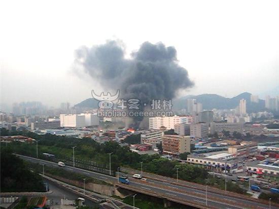 深圳清水河大爆炸