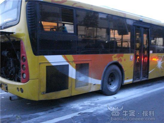 [组图]宝安大道机场路口367路公交车冒烟(获奖)
