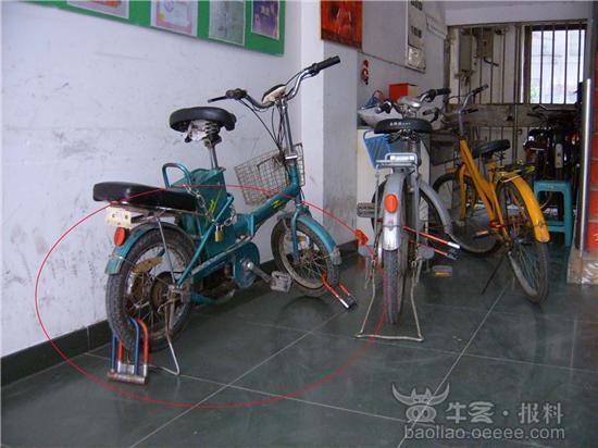 单车u型锁内部结构图