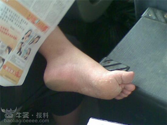 深圳公交上的臭脚