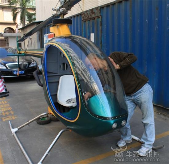 不关心企业,却痴迷造直升飞机,办公室和车间堆满的不是产品,却是钛