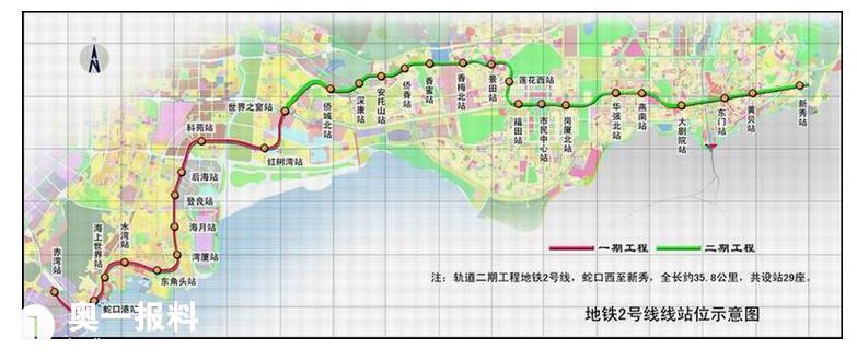看看未来的深圳地铁路线图大全