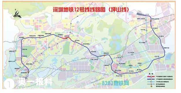 看看未来的深圳地铁路线图大全,看看有没有到你家